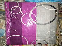 Двоспальне постільна білизна жатка Тирасполь сіро-малинове