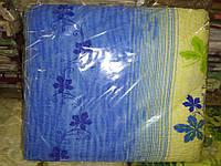 Двоспальне постільна білизна жатка Тирасполь синьо-бежева