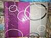 Семейное постельное белье жатка Тирасполь серо-малиновое
