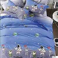 Дитяче постільна білизна Gold - Космонавти