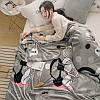 Плед велсофт (мікрофібра) ALM1908 160х200 см, 200х220 см, фото 3