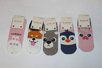Носки с рисунком Забавные животные Размер 38 - 41