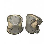 Тактические налокотники MilTec A TACS FG 16232359