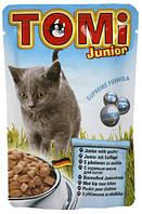 Консерва для котят TOMi Junior - кусочки птицы в соусе
