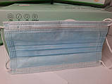 Маски медицинские одноразовые трехслойные 50 шт, фото 5