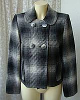 Пальто женское легкое демисезонное жакет бренд Marks&Spencer р.50 4027