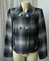 Пальто женское легкое демисезонное жакет бренд Marks&Spencer р.50 4027, фото 1