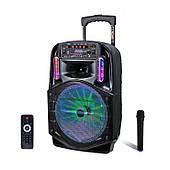 Активная акустическая система с беспроводным микрофоном AVCROWNS Pro CH-86, Мощность 150 Ватт