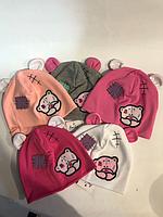 Детская шапочка Меги (варианты расцветок, 48-50 рр)