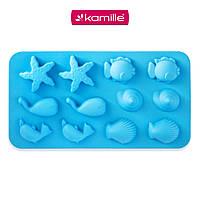 Форма для льоду/цукерок Kamille KM-7742 (22 х 12 х 1,5 см)
