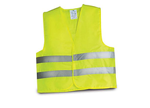 Жилетка безопасности светоотражающая (желтая)