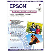 Бумага EPSON A3 Premium Glossy Photo Paper (C13S041315)