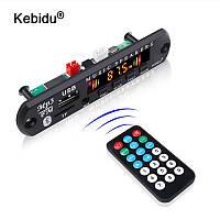 Bluetooth MP3 модуль Kebidu, USB/SD/FM/Bluetooth 5.0, для дома и автомобиля