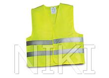 Жилетка безпеки світловідбиваюча  (Жовта)
