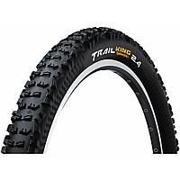 "Безкамерна шина Continental Trail King, 27.5""x2.60, 65-584, чорна, складна, BlackChili, ProTection Apex, Skin, 980 гр., фото 1"