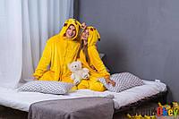 Кигуруми Пикачу покемон для ребенка 140 см. Пижама - костюм взрослый и детский