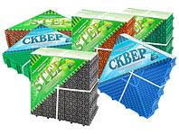 Модульные напольные пластиковые покрытия