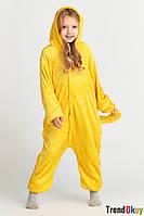 Кигуруми Пикачу покемон размер M (160-169 см) . Пижама - костюм взрослый и детский.
