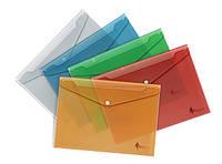Папка конверт А4 с кнопкой