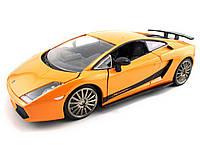 Авто-конструктор 1:24 Bburago LAMBORGHINI GALLARDO SUPERLEGERRA 2007 оранжевый металлик g18-25089