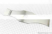 Нож режущий мотокосы 2Т (нержавейка, с зубьями)