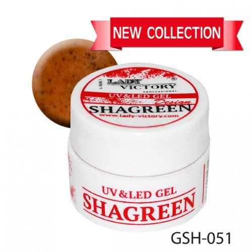"Гранулированный сахарный гель ""Shagreen"" Lady Victory GSH-051, 5 мл"