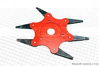 Нож сегментный мотокосы 6Т