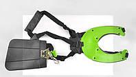 Ремень плечевой профессиональный мотокосы (зеленый)