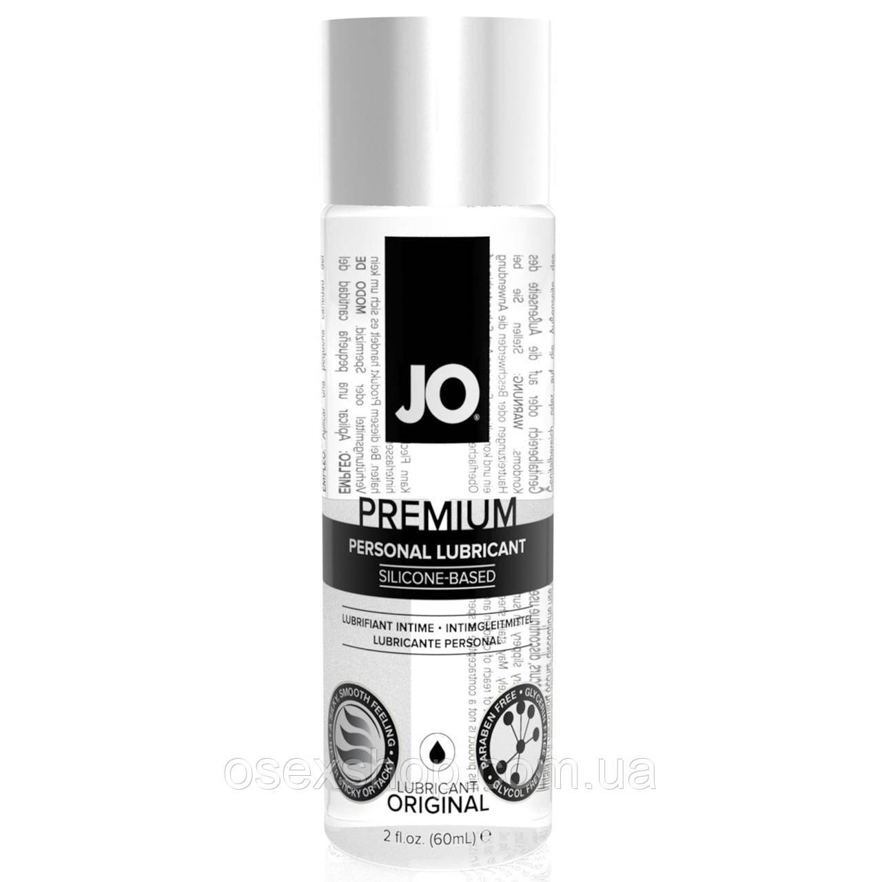 Лубрикант на силиконовой основе System JO PREMIUM - ORIGINAL (60 мл) без консервантов и отдушек