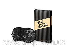 Маска нежная на глаза Bijoux Indiscrets - Blind Passion Mask в подарочной упаковке