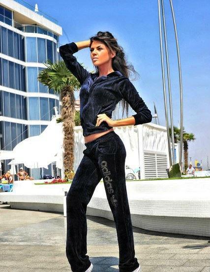 Велюровый женский  костюм Adidas