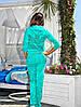 Велюровый женский  костюм Adidas, фото 5