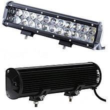 Автофара LED на крышу (24 LED) 5D-72W-SPOT (300 х 70 х 80)