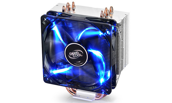 Охладитель для проц. Deepcool GAMMAXX 400 2066/2011-v3/2011/1366/1200/1150/51/55/56/775/AM4/FM1/2/ (GAMMAXX 400)