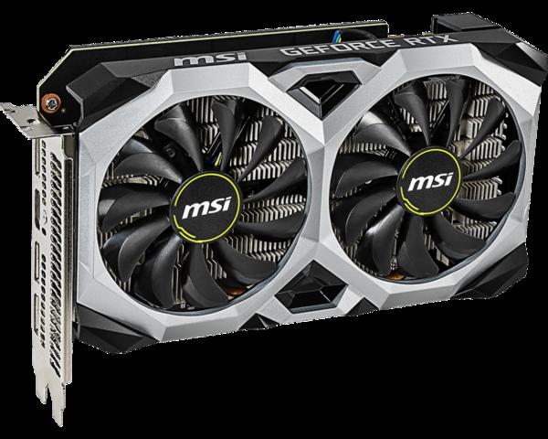 Видеокарта MSI GeForce RTX 2060 VENTUS XS 6GB OC (GeForce RTX 2060 VENTUS XS 6G OC)