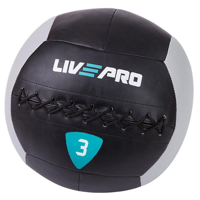 Мяч для кроcсфита LivePro Wall Ball (LP8100-3)