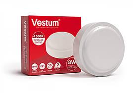 Світильник Led жкг круглий 8W 220V 4500K Vestum 1-VS-7101