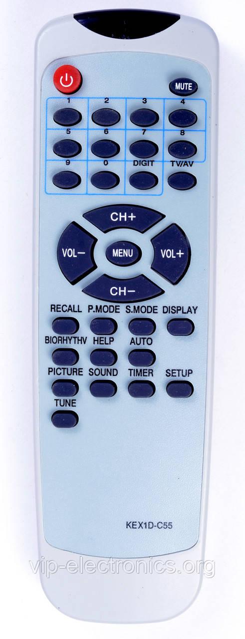 Пульт Rolsen  KEX1D-C55 (TV)  Elektron  як оригінал