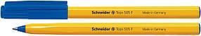 Ручка шариковая Schneider Tops F,  S150503, синяя