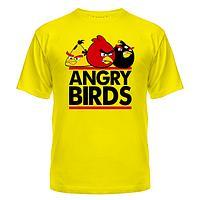 Футболка Angry birds трио