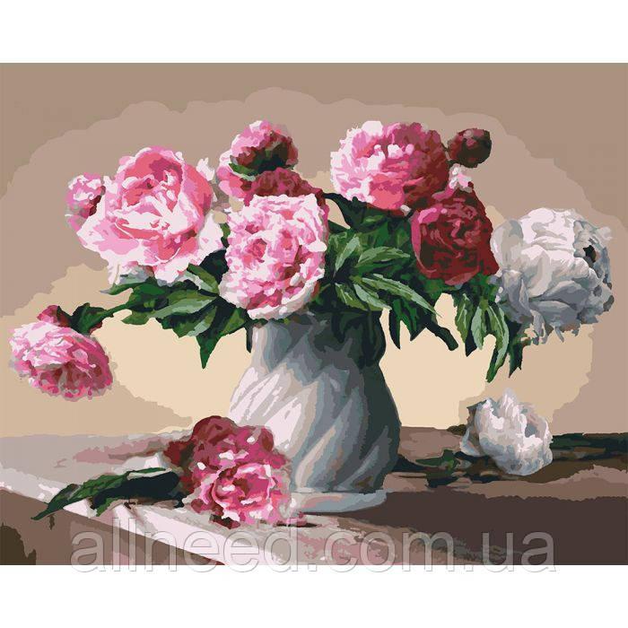 "Картина за номерами. Букети ""Квіти любові"" KHO3001"