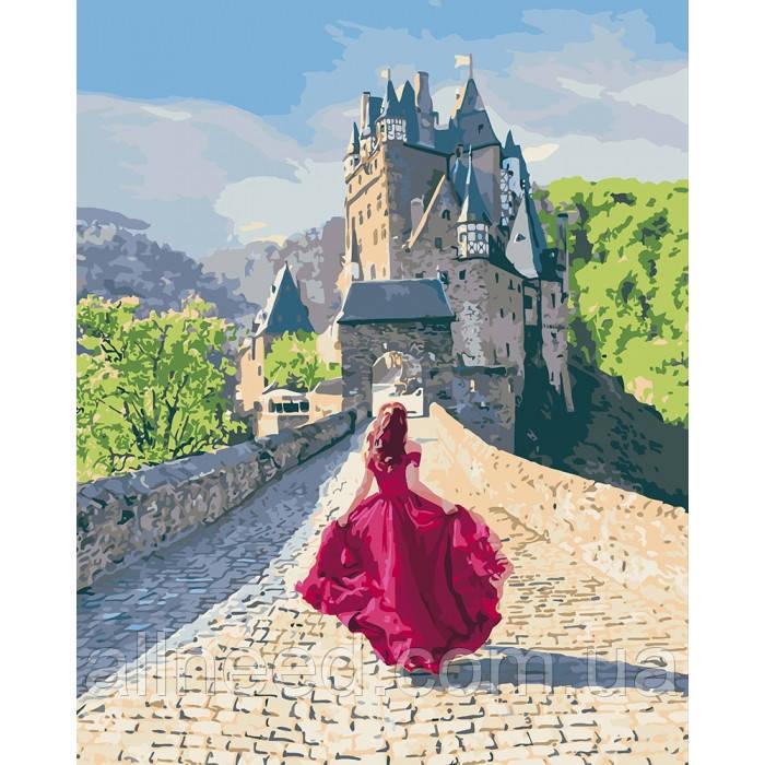 """Картина за номерами. """"Таємниця замку"""" KHO4622"""