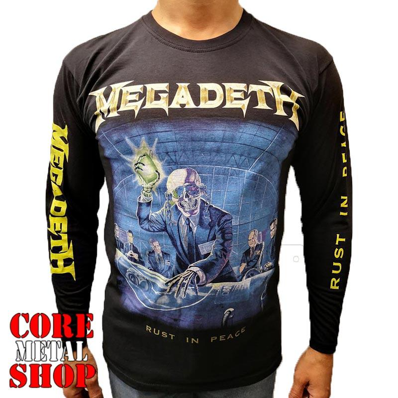 Лонгслив Megadeth - Rust In Peace