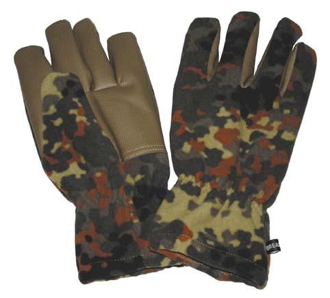 Перчатки флисовые ветрозащитные MFH Alpin Flectarn 15301V XXL