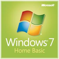 Microsoft Windows 7 Home Basic OA, 64 bit (F2C-01105)