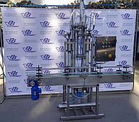 Автоматические линии розлива в стеклянную бутылку объемом 500 мл до 1000 мл
