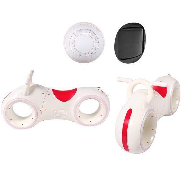 """Толокар """"Космо Байк"""" LED-подсветка, GS-0020 White/Red"""