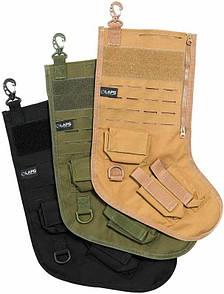 Оригинал Тактический подарочный носок LA Police Gear Atlas Tactical Christmas Чорний