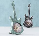 Настольные часы гитара металл h34см Гранд Презент 2005859, фото 4