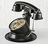 """Настольные часы """"Телефон Ретро"""" металл h21см Гранд Презент 1018097, фото 2"""